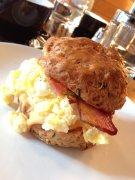 Cheddar Biscuit Breakfast Sandwich