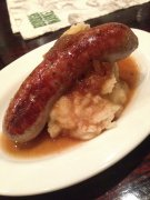 Sausage & mashed potatoes