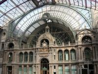 Inside Antwerp Central Station