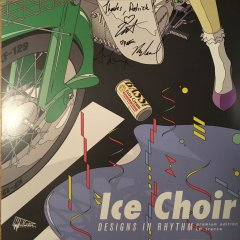 "Ice Choir ""Designs in Rhythm"" 12"" autographed"