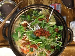 Vietnamese hot pot at Chopsticks