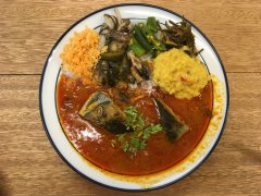Fish head curry at Shake Stand