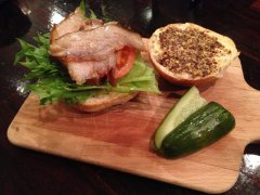 BLT slider at Bespoque