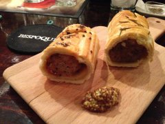 Sausage roll @ Bespoque