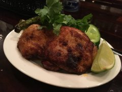 Thai style chicken at Bespoque