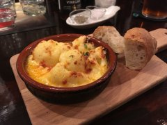 Cauliflower cheese @ Bespoque