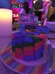 Colorful Poison Cake (Chemical) @ Kawaii Monster Cafe